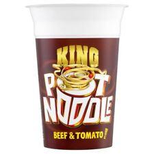 Pot Noodle King Pot Noodle Beef & Tomato Flavour (114g) - Pack of 2