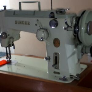 Unbeatable Singer 319K heavy duty sewing machine Great Britain full set