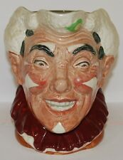 LARGE ROYAL DOULTON CHARACTER JUG THE CLOWN *** PERFECT *** EXTREMELY RARE MINT