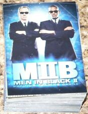 . Men in Black Ii by Inkworks in 2002. Complete 81 card base set. Mint.