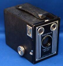 BROWNIE TARGET SIX-20 BOX Vintage Film Camera by EASTMAN KODAK * USA * AS IS