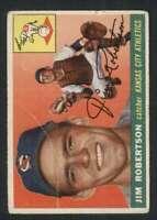 1955 Topps #177 Jim Robertson GVG Athletics 84580