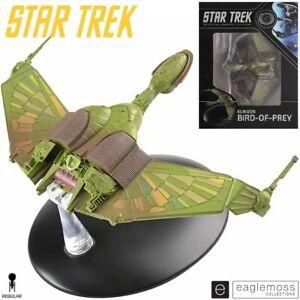 Eaglemoss Star Trek The Original Series Klingon Bird of Prey Ship Replica New
