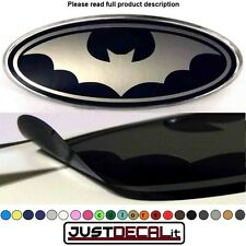 8.2x3.15 BAT overlay decal sticker logo man or woman FITS specific ford emblems