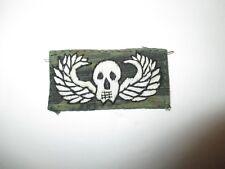 b4117 Vietnam US Paratrooper Novelty Jump Wing Death from Above tiger strp IR38B