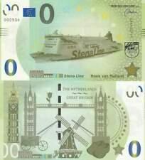 Biljet billet zero 0 Euro Memo - Stena Line Hoek van Holland (094)