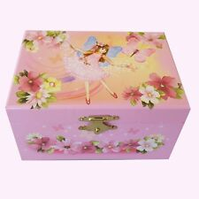 STUNNING Fairy Musical Jewellery Box Butterflies Flowers Music Girl's Gift