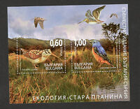 BULGARIA-MNH  BLOCK- FAUNA-BIRDS-JOINT ISSUE WITH SERBIA-ECOLOGY-2009.