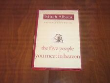 The Five People You Meet in Heaven by Mitch Albom (2003, First Ed. HC w/DJ)