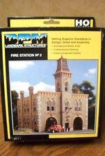 DESIGN PRESERVATION MODELS FIRE STATION #3 HO SCALE BUILDING KIT