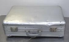 vintage suitcase  Alter Rimowa Alu Reisekoffer Aluminium Reise Koffer