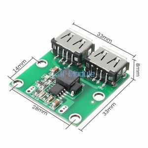 Dual USB Charger DC 6V-24V 12V To 5.2V 3A DC-DC Step-down Converter Module
