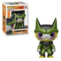 Metallic Perfect Cell Funko Pop Vinyl New in Mint Box + GS Sticker + Protector