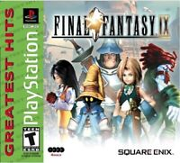 PLAYSTATION 1 PS1 VIDEO GAME FINAL FANTASY IX BRAND NEW AND SEALED