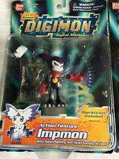 Digimon Impmon (2001) Bandai Season 3 Action Figure NEW
