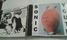 2 sonic youth cds dirty and goo
