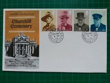 1974 Churchill Centenary FDC House of Commons CDS
