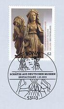 BRD 2015: Tilman-Riemenschneider-Skulptur Nr. 3180 mit Bonner Stempel! 1A! 1612