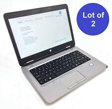 "Lot of 2 Hp Probook 640 (G2) Laptop i5-6200U 2.3Ghz No Hdd 8Gb Ram 14"" *"