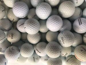 100 Mixed Titleist Golf Balls Good Condition Grade A and B.