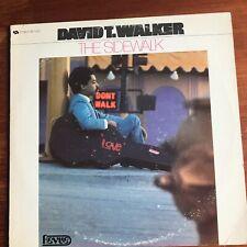 David T Walker - The Sidewalk 1968 Jazz Revue RS7207 Vinyl is EX