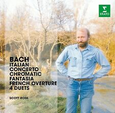 Scott Ross-arpa-Werke (Ital. concerto, Chromat. fantasia & F CD NUOVO Bach
