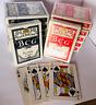 DOZEN (12 Decks) of PLAYING CARDS Poker Paper gin Spades bridge game