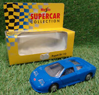 MAISTO DIECAST SUPERCAR COLLECTION SCALE 1/37 Bugatti EB 110 boxed
