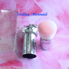 Hello Kitty! *RETRACTABLE KABUKI BRUSH* Silver Case LIMITED EDITION New in Box!