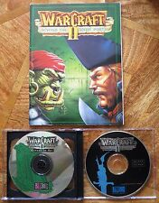 WarCraft II 2 Deluxe Tides of Darkness + Beyond Dark Portal Expansion PC CD-ROM