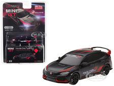 Honda Civic Type R (Fk8) Customer Racing Study Black 1/64 Diecast Tsm Mgt00023
