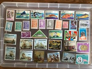 Panama stamps unchecked collection (zz257)