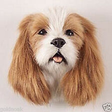 (1) CAV KG SPANIEL DOG MAGNET! Very realistic collectible fur Magnets.