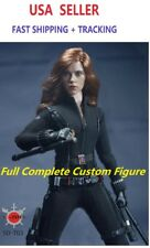Custom 1/6 Black Widow Figure Full Set Scarlett Johansson superhero toy verycool