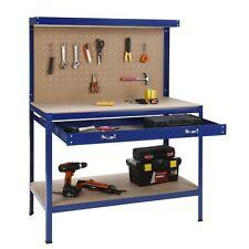 NEW VonHaus Robust  Workbench with Pegboard - workshops, sheds and garages - DIY