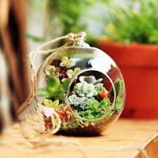 Glass Flower Plant Stand/Hanging Vase Terrarium Container Home Wedding Decor VCD