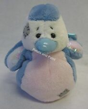 "Me To You My Blue Nose Friend 4"" Small Plush Soft Toy Ruby the Robin No.37 BNWT"