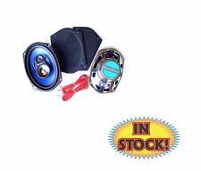 "Custom Autosound 6"" x 9"" 3-Way Speakers with Flat Grilles 200 Watt - CAM-693C"