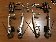 Shimano Deore XT BR-M739 V-Brakes Complete Front & Rear Calipers