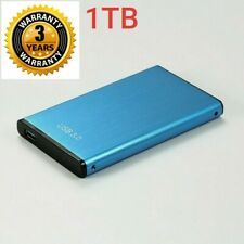 1TB External Hard Drive Disks HDD 2.5'' Fit For PC Laptop MAC Portable