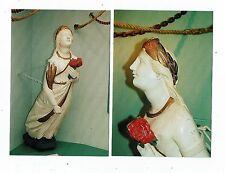POST CARDS FIGUREHEADS  THE LADY AGNES WHO RESIDES IN THE ST. AGNES MUSEUM CORNW
