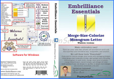 Embrilliance Essentials Embroidery For Windows / Full version / Fast Delivery