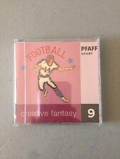 New PFAFF CREATIVE FANTASY EMBROIDERY CARD #9 SPORTS Sealed