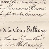 Auguste François De La Cour Balleroy 1875 Calvados