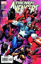 The New Avengers #12 Spider-Man , Wolverine, Signed By Artist David Finch
