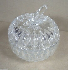 """Gorham Althea Crystal Apple Box 5"""" Germany In Box"""