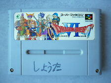 Dragon Quest VI 6 jeu Super Famicom / Super Nintendo