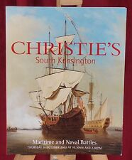 Christie's Maritime & Naval Battles Auction Catalogue 31 October 2002 Paintings