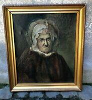 Olio su tela Quadro - fine 1800 circa - Con cornice - Ottime condizioni