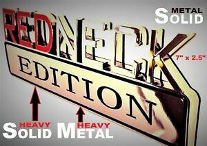 METAL Redneck Edition Emblem HIGHEST QUALITY ON EBAY Pontiac Fender Door Logo